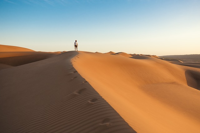 Adventure, Alone, Arid, Barren, Daylight, Desert, Dry