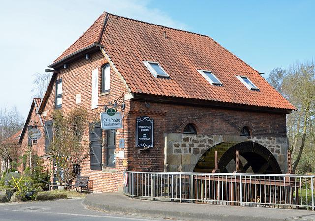 Barrien, Water Mill, Cultural Heritage, Germany