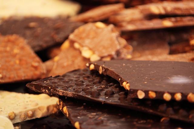 Chocolate, Bars, Cocoa, Chocolate Bars