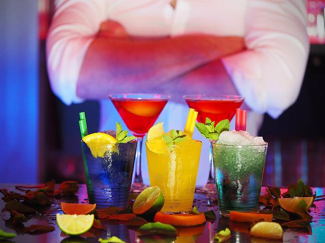 Man, Bartender, Cocktails, Drinks, Night, Club, Shirts