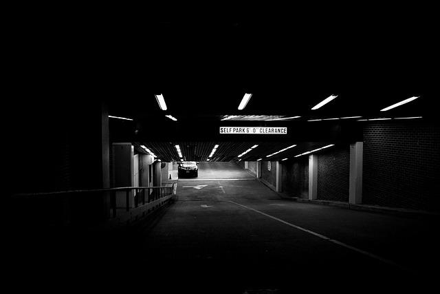Parking Deck, Basement Garage, Subterranean Garage