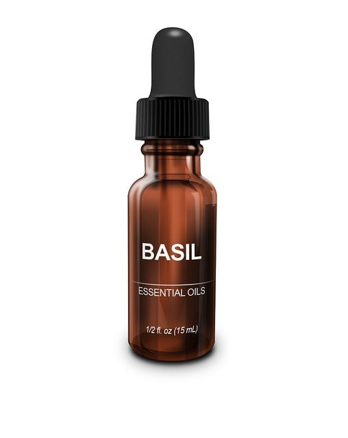 Essential Oil, Basil, Aromatherapy, Organic, Natural