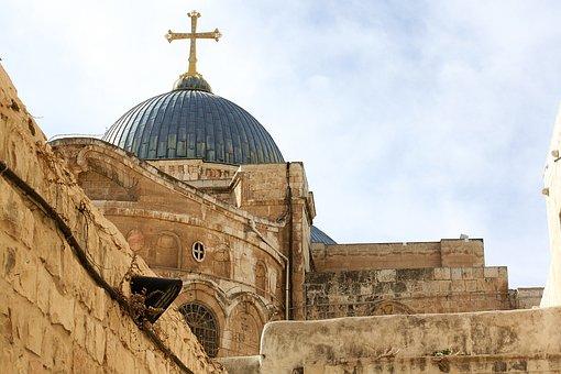 Basilica Of The Holy Sepulchre, Jerusalem, Israel