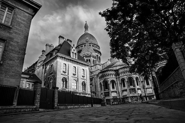 Basilica, Monument, Paris, Tourist Destination