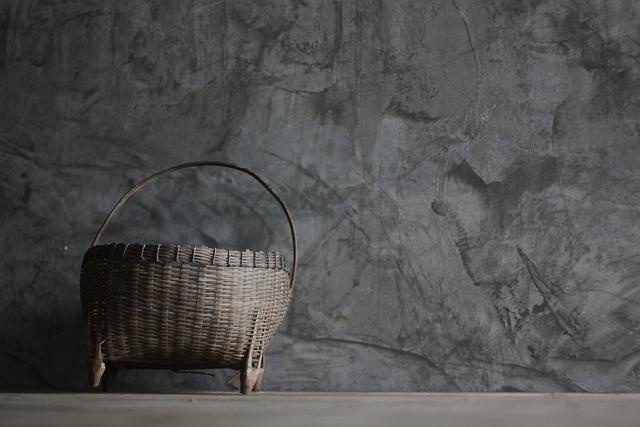 Basket, Weave, Bamboo