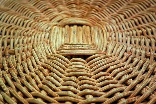 Reed, Basket, Basket Weaving, Reed Basket, Weaving