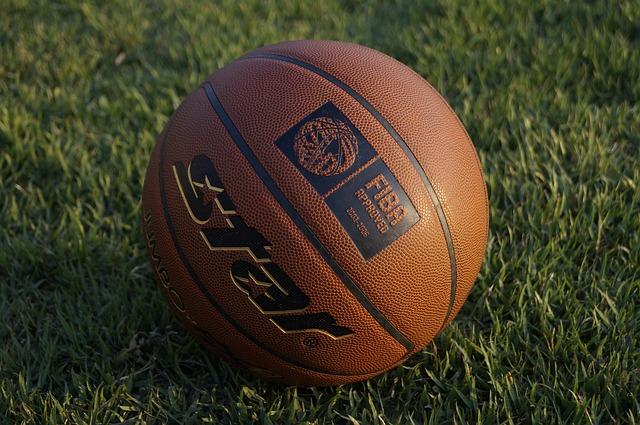 Basketball, Ball, Basketball Ball, Glow, In The Evening