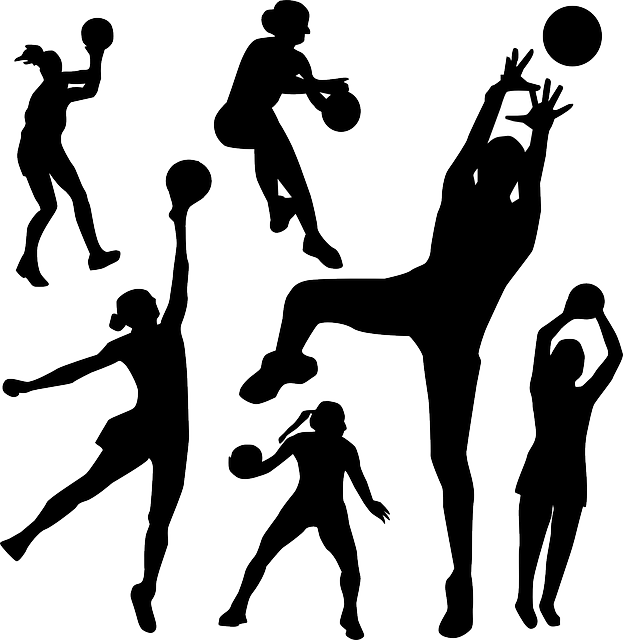 Handball, Basketball, Ball, People, Throwing, Passing