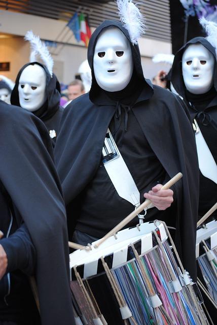 Mask, Tambour, Carnival, Basler Fasnacht 2015
