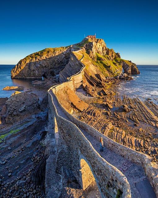 Gaztelugatxe, Basque Country, Bakio, Island, Spain