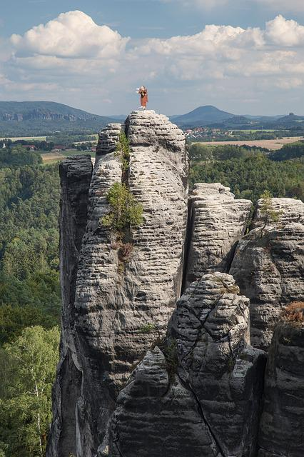 Saxon Switzerland, Bastei, Elbe Sandstone Mountains