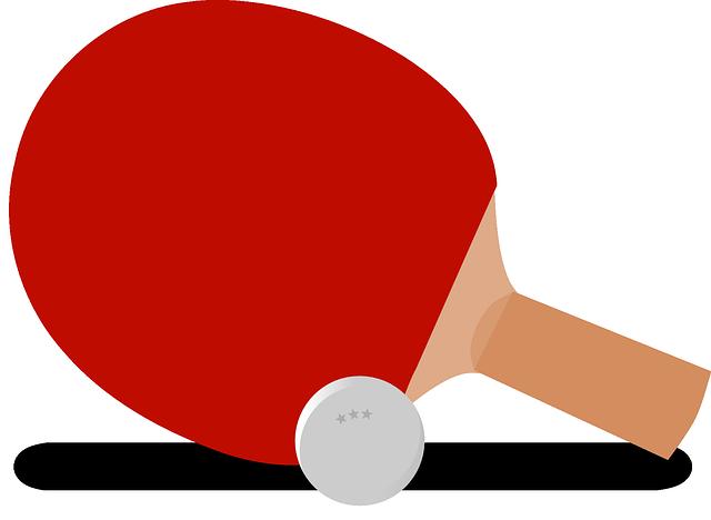 Ping-pong, Table Tennis, Paddle, Bat, Ball, Sport, Game