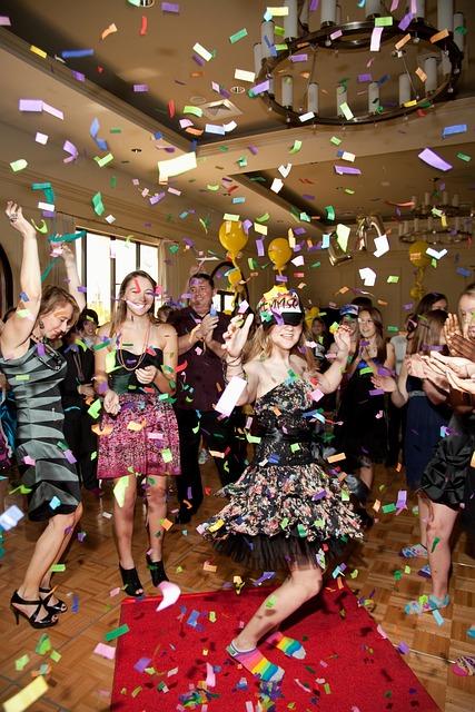 Bat Mitzvah, Confetti, Party, Staar Entertainment