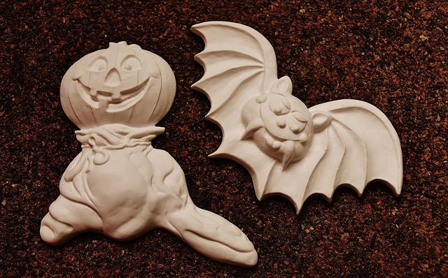 Pumpkin, Spirit, Halloween, Bat, October, Autumn
