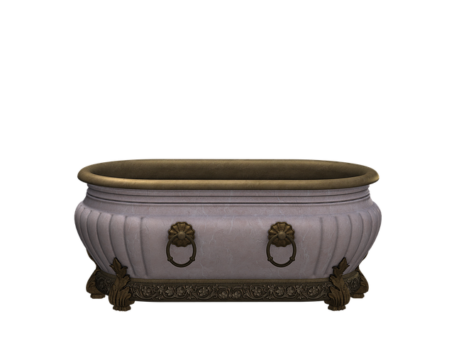 Tub, Bath, Beautiful, Antique, Nostalgic, Oval, Design