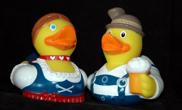 Rubber Duck, Bath Duck, Squeak Duck, Duck, Oktoberfest