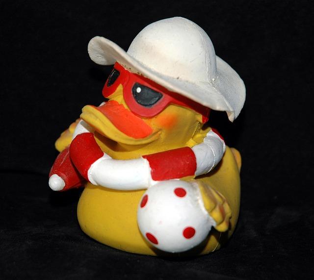 Rubber Duck, Bath Duck, Squeak Duck, Duck, Toys