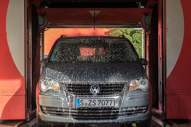 Vw, Vokswagen, Car Wash, Bath Foam, Car Care, Wet