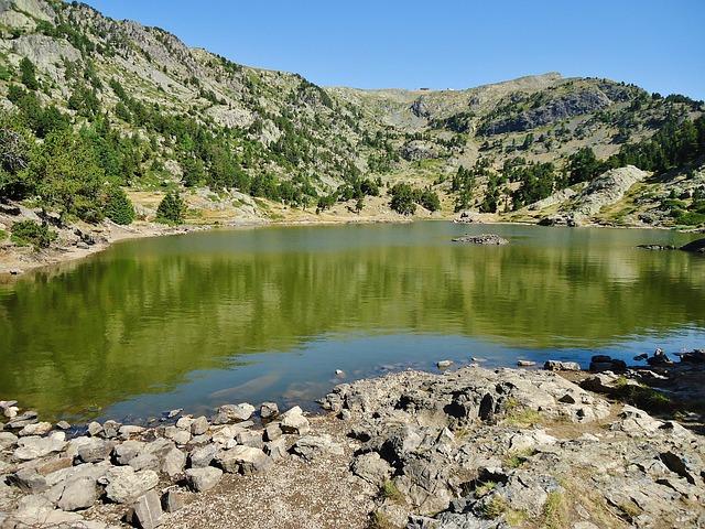 Lac Achard, Mountain, Alps, Hiking, Bathing, Landscape