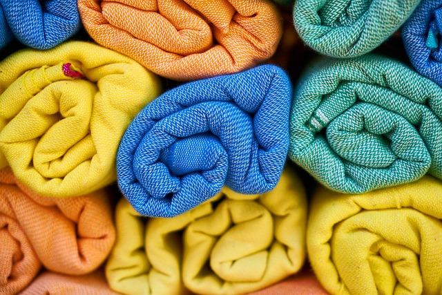 Towels, Textile, Hygiene, Bathroom, Cotton