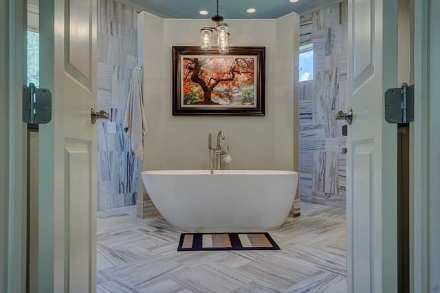 Bathroom, Tub, Bathtub