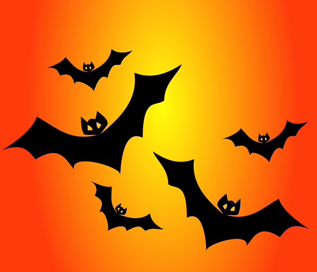 Bats, Haunted, Nocturnal, Flying, Fluttering, Dracula