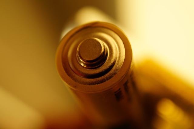 Battery, Close-up View, Macro