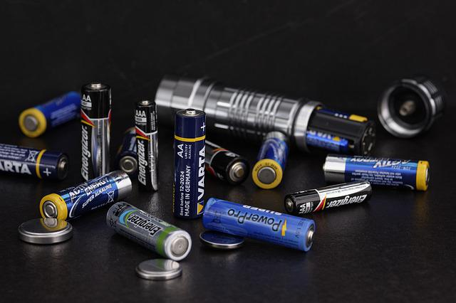 Battery, Energy, Current, Flashlight, Alkaline, Lamp