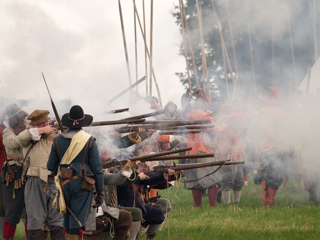 English Civil War, Reenactment, Historical, Battle