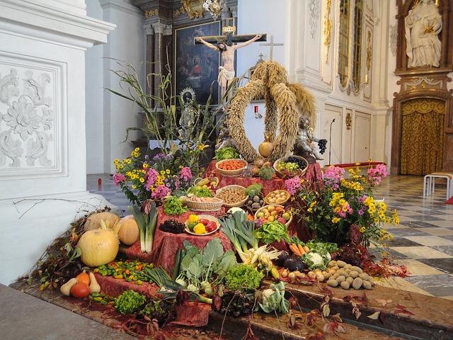 Cereals, Thanksgiving, Church, Worship, Bauer Custom
