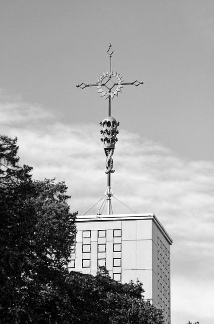 Church, Steeple, Bauhaus, Bauhaus Church, Cologne