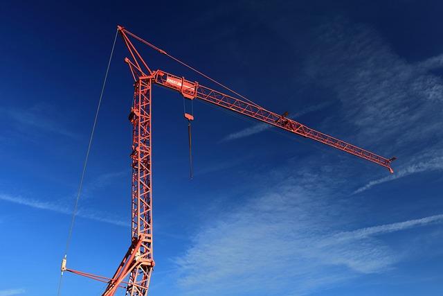 Crane, Baukran, Site, Technology, Construction Work