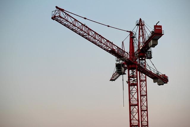 Baukran, Load Crane, Build, Crane
