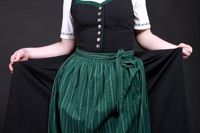 Costume, Dirndl, Tradition, Bavaria, Bavarian, Customs