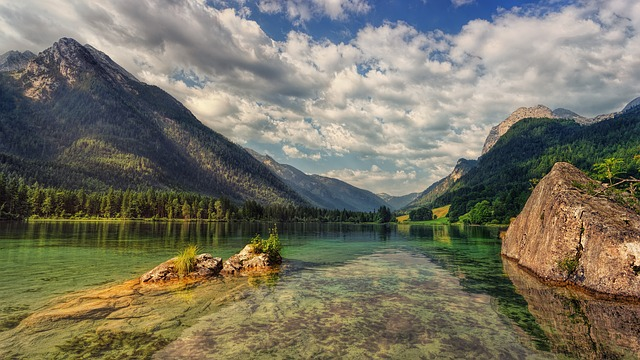 Hintersee, Alpine, Lake, Landscape, Bavaria, Nature