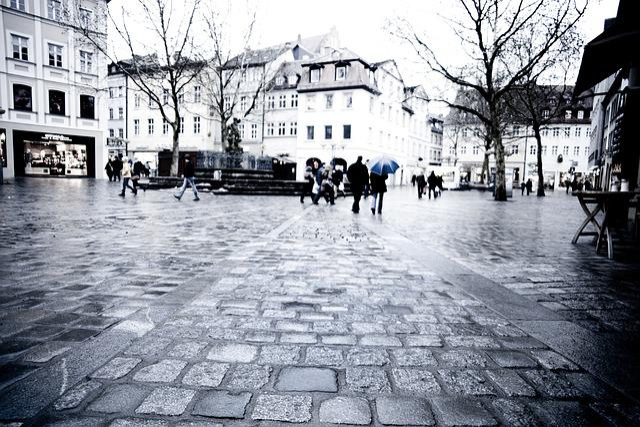 Old Town, Bamberg, Nuremberg, Shops, Bavaria, Germany