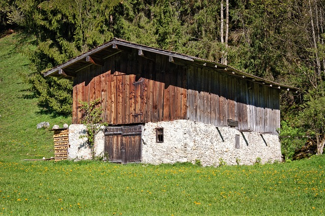 Alm, Hut, Bavaria, Alpine Hut, Chiemgau, Pasture