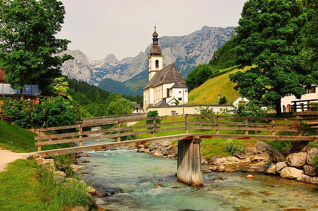 Ramsau, Bavaria, Upper Bavaria, Mountains