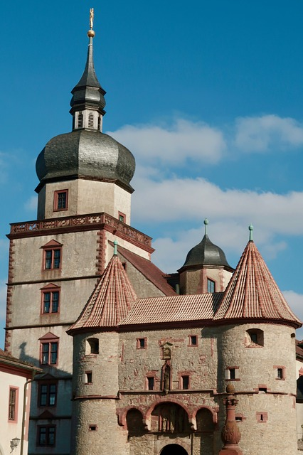 Fortress, Marienberg, Würzburg, Building, Bavaria