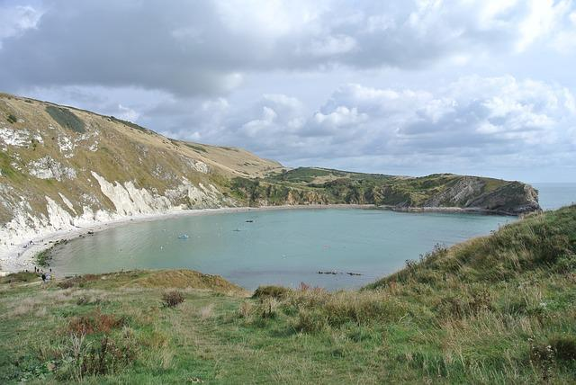 Lulworth, Dorset, Cove, Coast, Bay, Cliffs, Beach