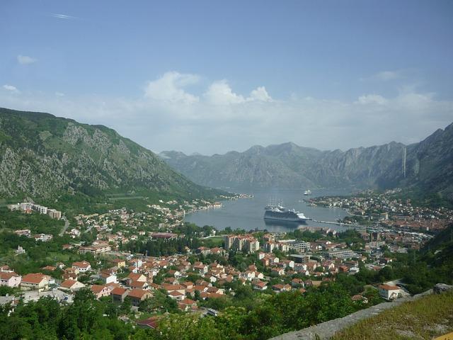 Bay, Montenegro, Kotor, Balkan, View, Landscape