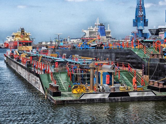 Rotterdam, Netherlands, Port, Harbor, Bay, Water