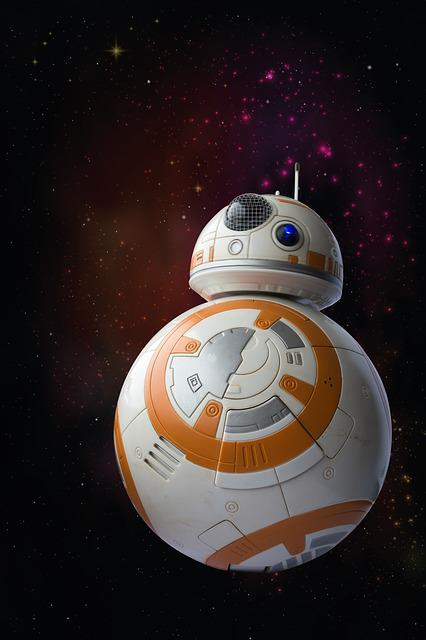 Bb8-droid, Droid, Robot, Model, Toys, Cosmos, Space