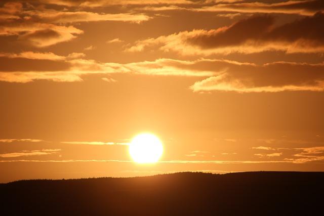 Sun, Abendstimmung, Sunset, Sea, Panorama, Beach, Sky