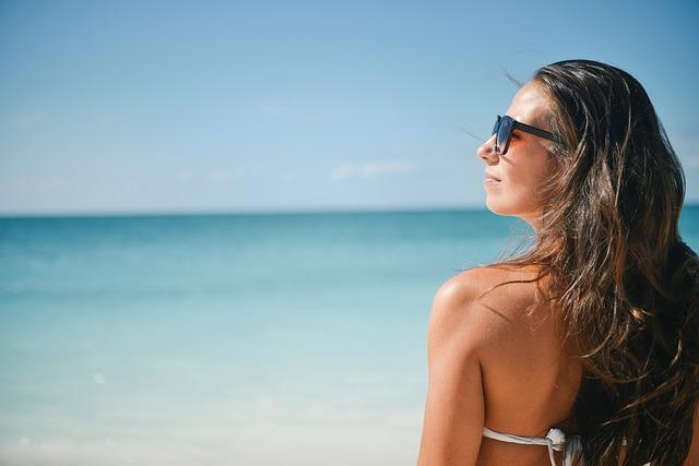 Girl, Bikini, Beach, Summer, Holiday, Woman, Female