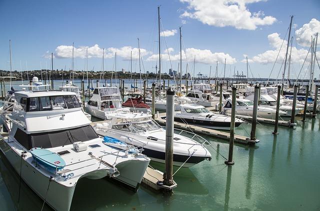 New Zealand, Auckland, Beach, Pier, Blue Sky