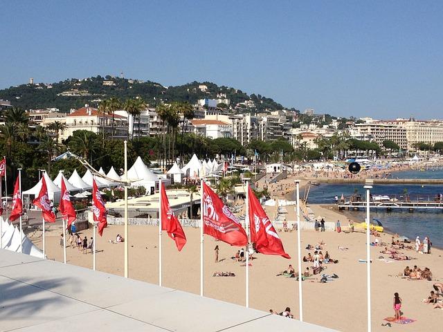 Beach, Cannes, Festival