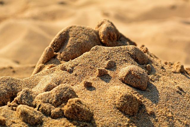 Sand, Beach, Hill, Desert