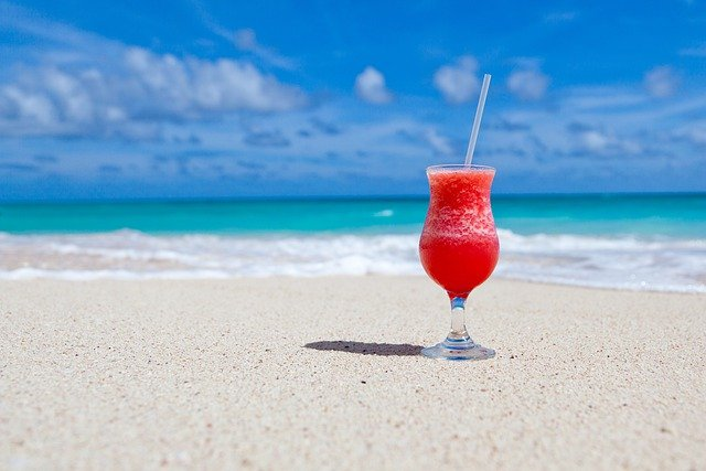 Drink, Cocktail, Beach, Beverage, Refreshment