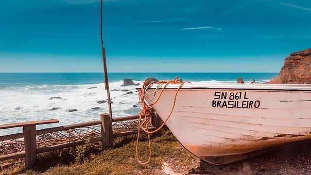 Ocean, Beach, Fisher